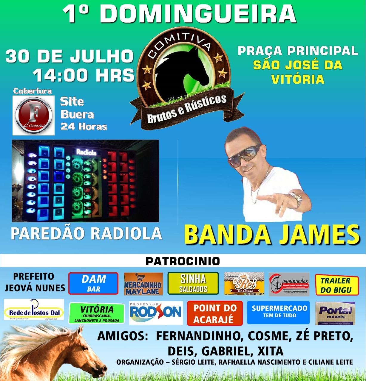 Dia 30 - Super Festa em S.J da Vitória