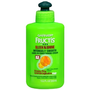 Garnier, Garnier Fructis, Garnier Fructis Style Sleek & Shine Intensely Smooth Leave-In Conditioning Cream, Garnier Fructis leave-in conditioner, conditioner, hair, hair products