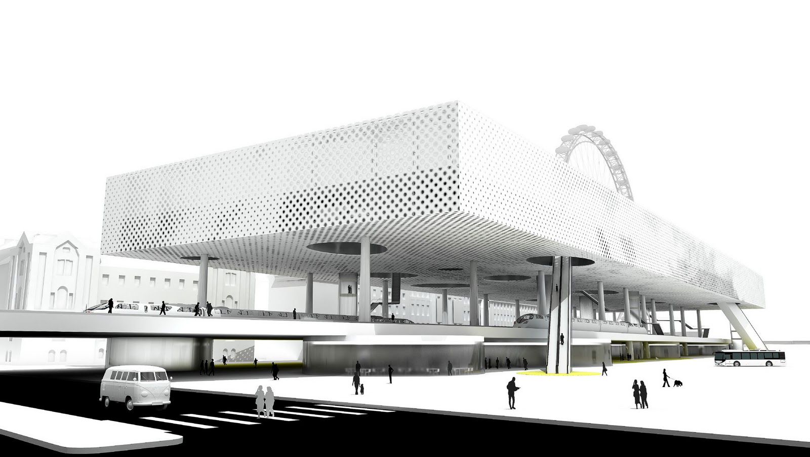 FIRST PRIZE ADA 2011   Architecture Dissertation Award // GOOGLE  HEADQUARTERS BERLIN   Paloma Hendel, Spain