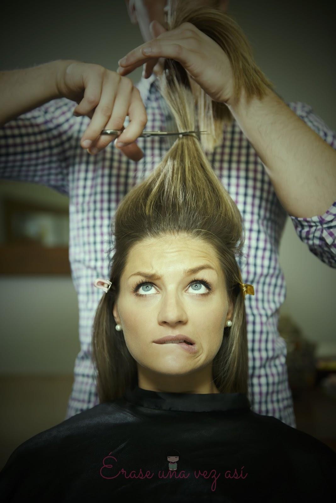 Solo las puntas , terminar con una relacion, ansiedad, como me corto el cabello