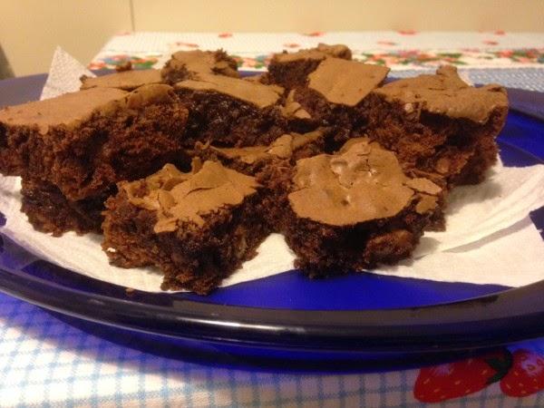 bimby, brownies di laurel evans, ricetta americana con il cioccolato delle uova di pasqua