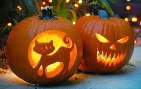 decoración hogareña en Halloween