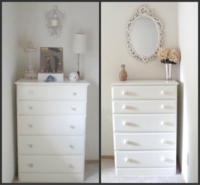 Fixed up thrifted furniture looks like new after makeover