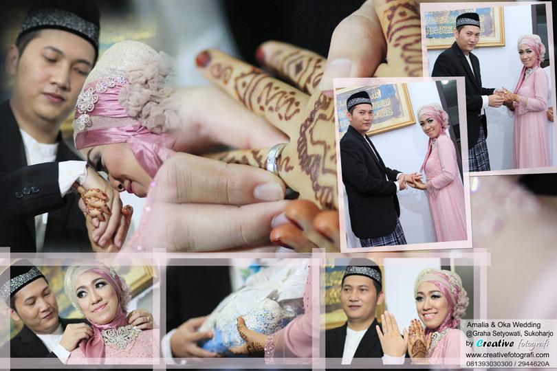 foto prosesi tukar cincin