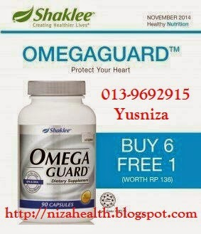 Omega Guard Shaklee Buy 6 Free 1