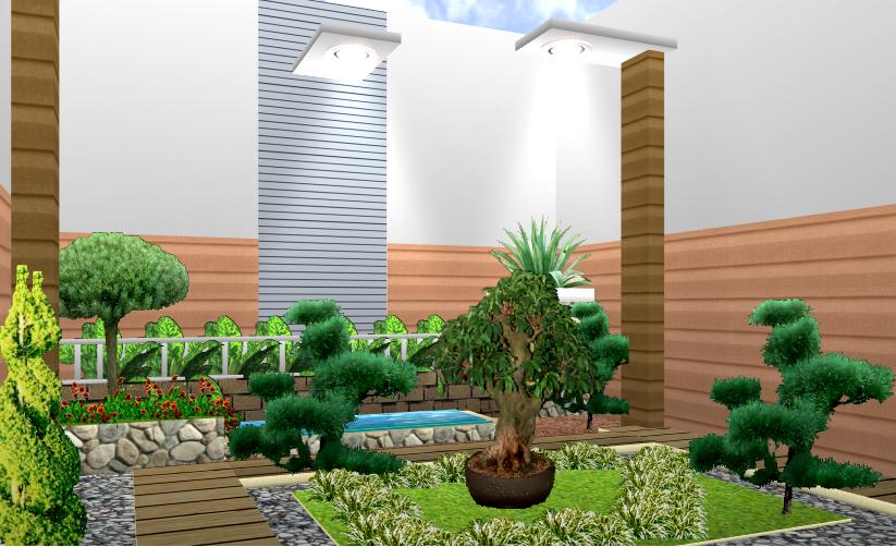 rumah minimalis cantik desain taman rumah minimalis