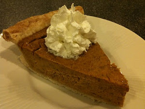 My Homemade Pumpkin Pie