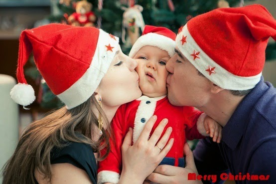 Christmas picture ideas newborn images for Cute baby christmas photo ideas
