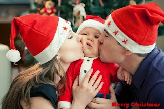 Merry Christmas Picture Ideas with Baby