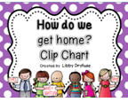 http://www.teacherspayteachers.com/Product/Dismissal-Transportation-Clip-Chart-Bright-Polka-Dot-811945