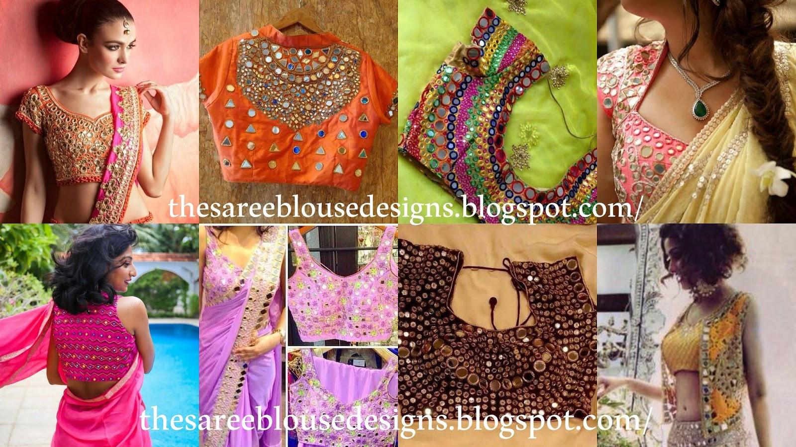 Saree Blouse Designs: Types of Blouse