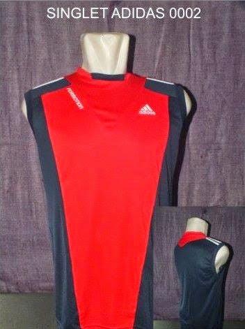 Jual Kaos Futsal Pekanbaru SINGLET ADIDAS 0002