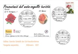 Mata-segells turístic de Sant Feliu