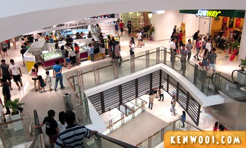 paradigm mall interior view