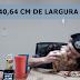 Mulher come pizza de 40,5 cm de largura em 1 minuto e 13 segundos
