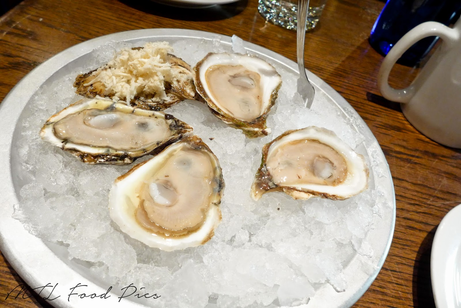 Malpeque and Ruisseau Oysters - Whalesbone Ottawa