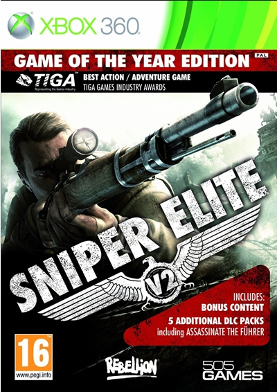 Sniper Elite V2 Game Of The Year Edition Xbox 360 NTSC-U Español XGD2