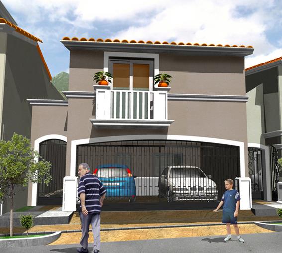 Casas mexicanas fachada 6 de casa mexicana moderna en for Casas modernas mexicanas