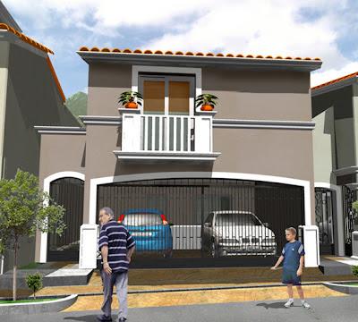 Casas mexicanas fachada 6 de casa mexicana moderna en for Planos de casas modernas mexicanas