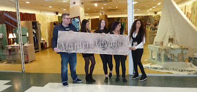 Launch of Maiden Voyage Shop in Dundee's Wellgate Shopping Centre 6 November 2013