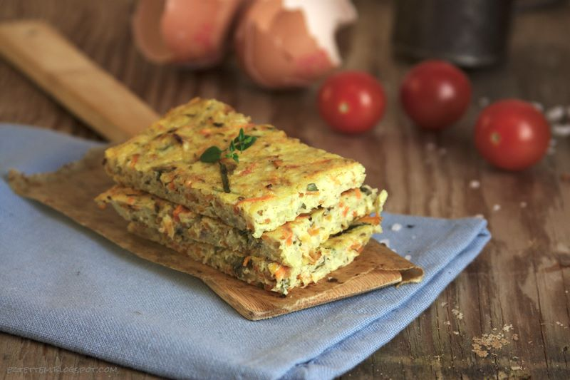 zöldséges fritatta