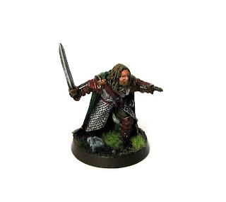 Figurka Gamlinga Władca Pierścieni