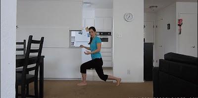 Zancadas para unas piernas sanas