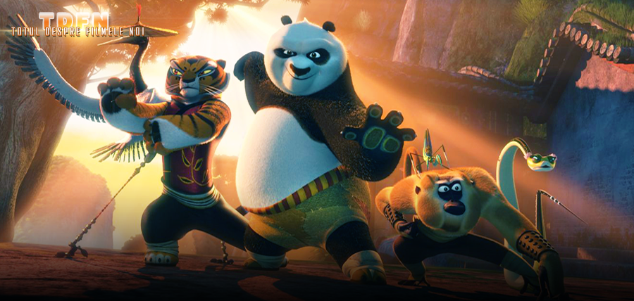 În Kung Fu Panda 3, Po trebuie să antreneze un sat plin de urşi panda