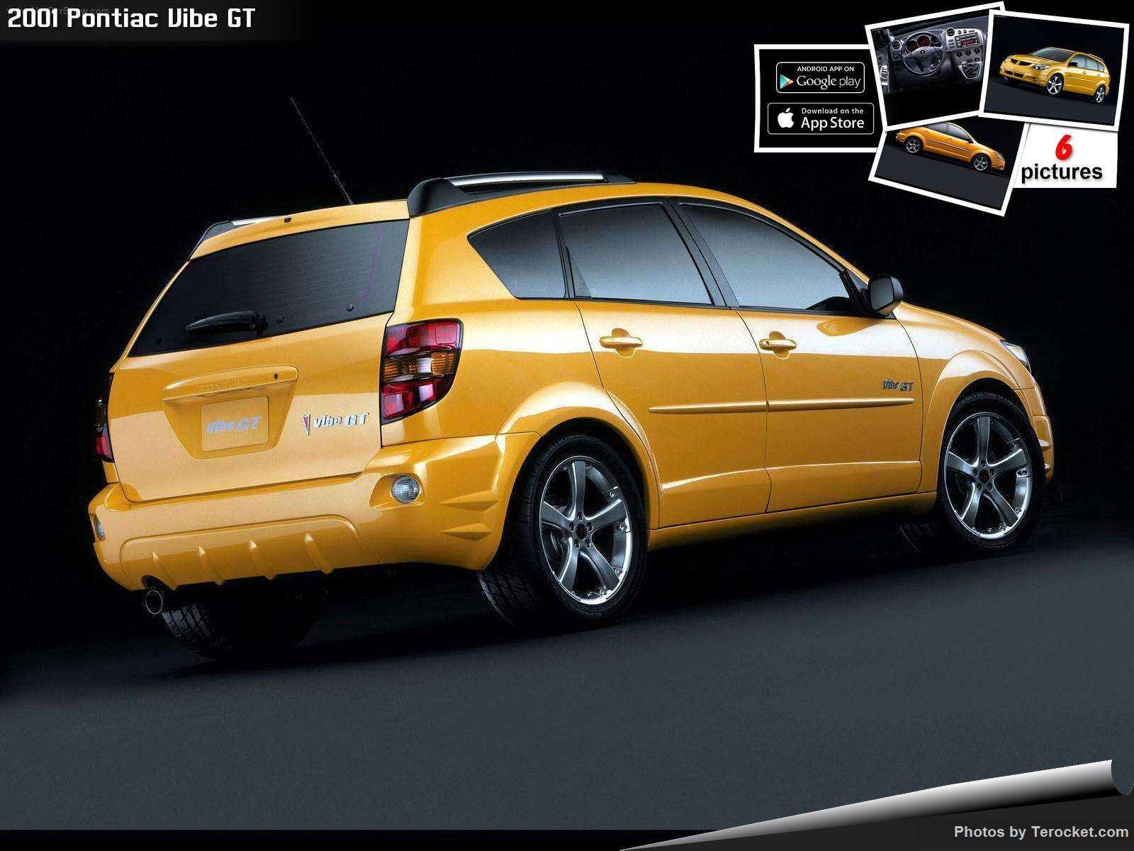 Hình ảnh xe ô tô Pontiac Vibe GT 2001 & nội ngoại thất