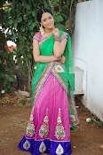 Actress Anjali Rao in Half Saree-thumbnail-18
