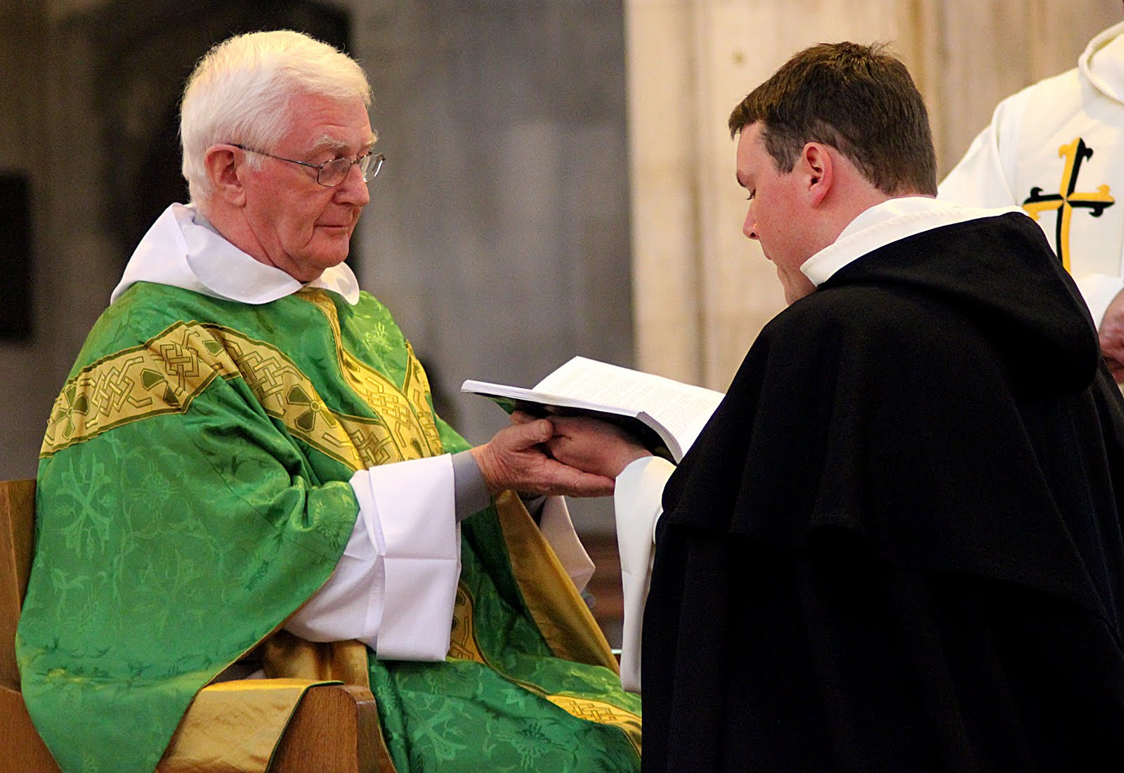 Solemn profession of colm mannion op and luuk jansen op