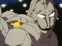 Onix vs Pikachu