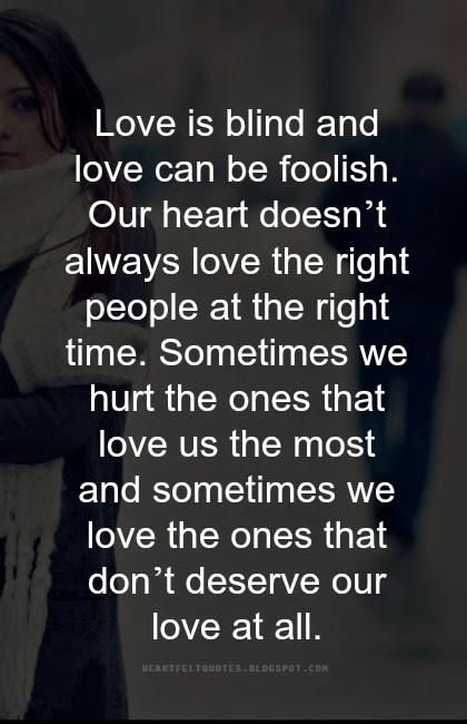 blind trust broken relationship