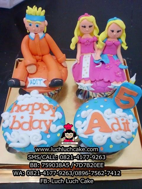 Cupcake Naruto Dan Princess Daerah Surabaya - Sidoarjo
