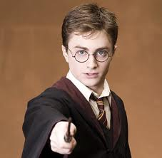 Harry Potter and his wand. Similar to the wooden spoon