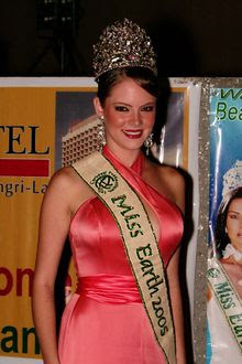 Alexandra Braun, Miss Earth 2005