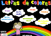 JUEGO LETRAS DE COLORES