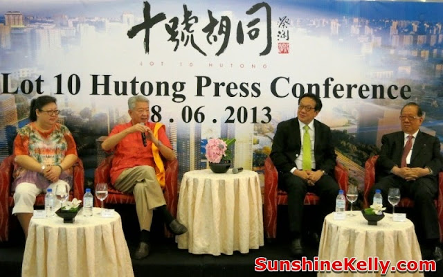 Lot 10 Hutong, Hutong in Guangzhou, China, Hutong, Press conference