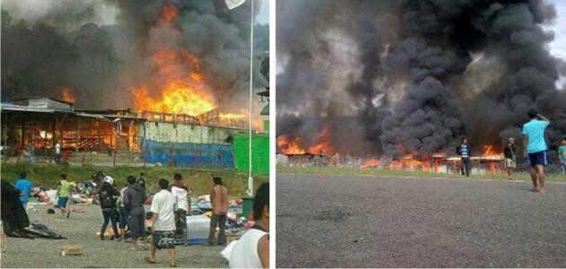 Masjid Papua Dibakar