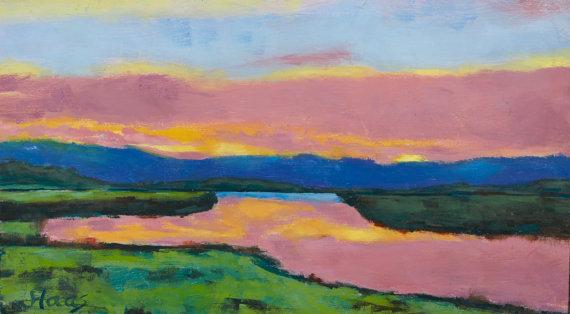 Sacramento Delta Sunset