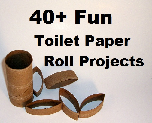 Diy crafts other projects 40 fun toilet paper roll for Paper roll projects