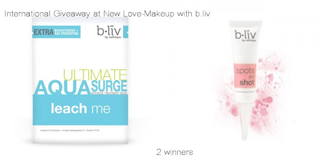 b.liv Skin Care International Giveaway (2 winners)