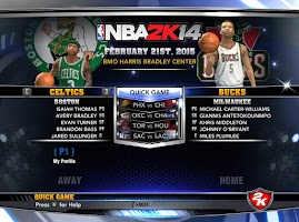NBA 2k14 Custom Roster Update v4 : February 21st, 2015 - Trade Deadline - Celtics and Bucks Roster