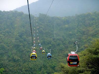 Sun Moon Lake Cable Car Ride Taiwan