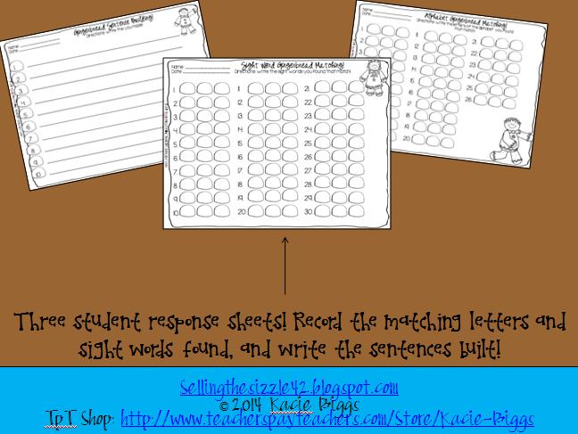 http://www.teacherspayteachers.com/Product/Differentiated-Gingerbread-Literacy-Craft-or-Center-1079542