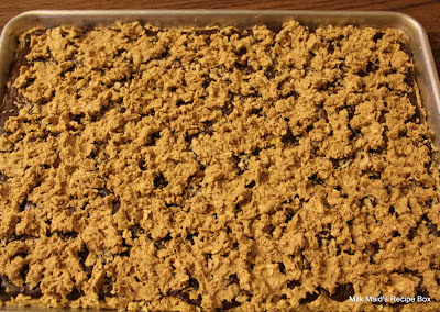 fudge nut bars (fudge jumble bars?)