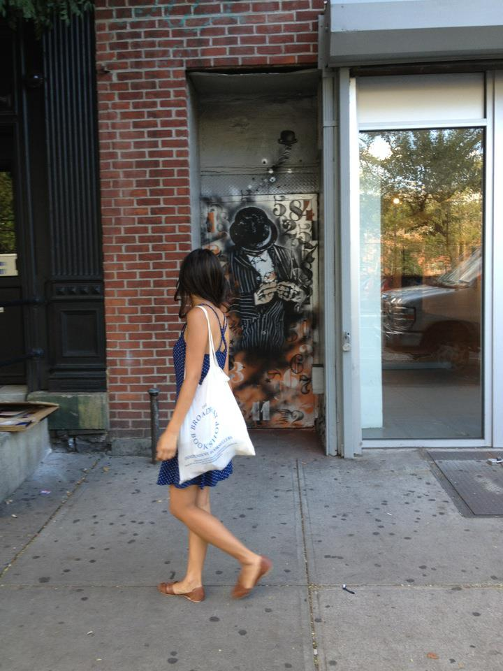 Nick Walker New Street Piece In New York City, USA