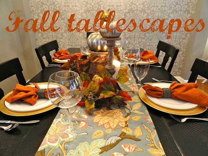 rachel's nest: fall tablescapes
