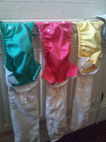 Bambino Mio Miosolo Nappies drying on the radiator