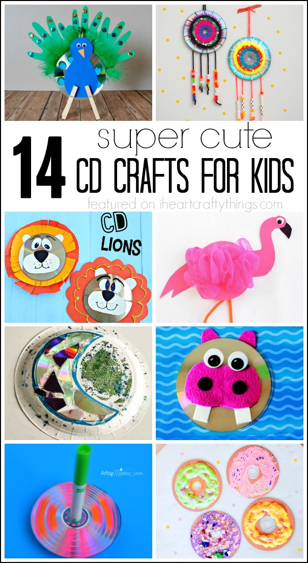 14 Super Cute Cd Crafts For Kids I Heart Crafty Things